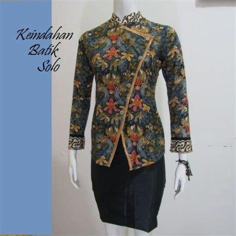 batik kerja wanita terbaru bb251 blus batik baju batik dan kebaya