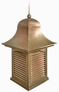 roof vent attic ventilation gable vent copper With cupola roof vent