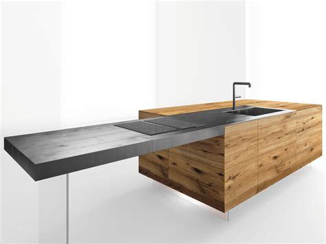 cuisine aran küchenarbeitsplatte tisch aus stahl steel by lago