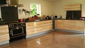 revetements en enduit beton cire decoratif With enduit pour plan de travail cuisine