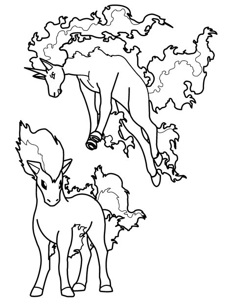Free Pokemon Ex Coloring Pages