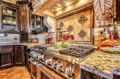 tuscan style kitchen cabinets 29 tuscan kitchen ideas decor designs 6407