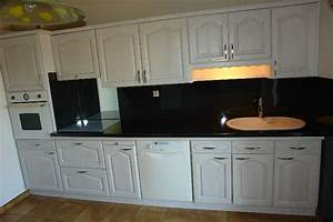renovation cuisine valence romans montelimar With renovation meuble cuisine en chene
