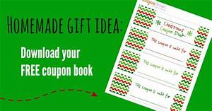 free christmas coupon book printable homemade gift idea With coupon book template for husband