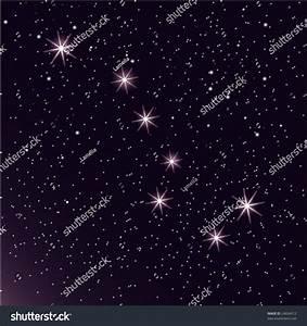 Constellation  U0026quot The Great Bear U0026quot  Stock Vector Illustration