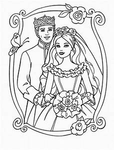 BARBIE COLORING PAGES: KEN AND BARBIE COLORING PAGES