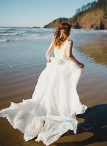 jol261 sexy backless flowy airy chiffon beach boho wedding With bohemian beach style wedding dresses