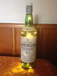 Flasche Mit Lichterkette : laphroaig whisky flasche mit led lichterkette von taunusbottles taunus bottles pinterest ~ Frokenaadalensverden.com Haus und Dekorationen