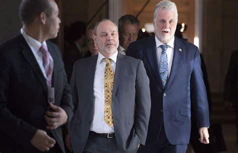 chef de cabinet du premier ministre le chef de cabinet de couillard a eu des relations d affaires avec marc bibeau fil de