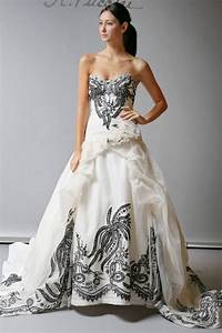 2013 wedding dress st pucchi bridal cream with black With wedding dresses for black brides