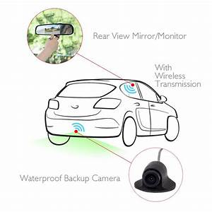 Pyle Plcm4370wir Wireless Rearview Backup Camera  U0026 Monitor