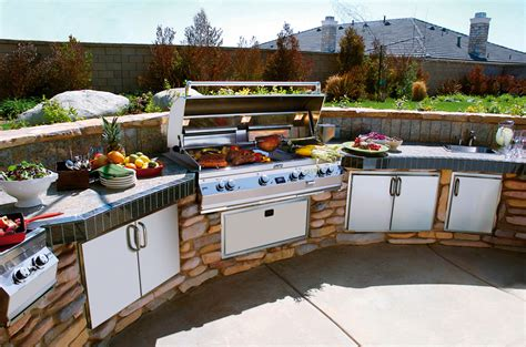 outdoor kitchens  aint  dads backyard grill