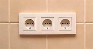 Goulotte Electrique Avec Prise : installer une prise lectrique ~ Mglfilm.com Idées de Décoration