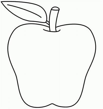 Apple Coloring Pages Printable Apples Colouring Printing