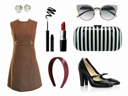 Polyvore Swinging Sixties Subtle Outfit