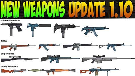 New Weapons Update 1.10! Stun Gun, Smoke