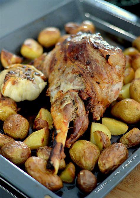cuisiner au four gigot d 39 agneau au four cuisiner tout simplement le de cuisine de nathalie