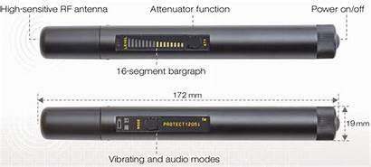 Wireless Signal Detector Wand Kjb Spying Anti