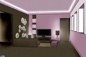 castorama et my coach etape 4 coachs deco mode d With photo peinture salon 2 couleurs 13 meuble bureau