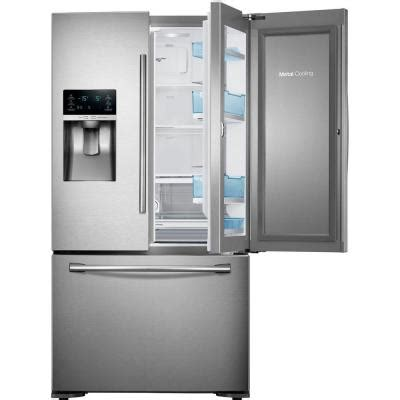 Samsung Counter Depth Refrigerator Home Depot by Samsung 22 5 Cu Ft Food Showcase Door