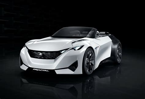 Peugeot's New Fractal Coupe-hatch-convertible Concept In