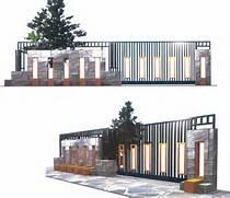 Desain Pagar Minimalis Untuk Memperindah Rumah Contoh Gambar Pagar Rumah Tipe 36 Pagar Rumah Minimalis Type 45 Gambar Desain Properti Gambar Desain Pagar Besi Rumah Minimalis Desain RumahKu