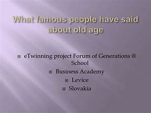Famous age quot... Age Share Quotes