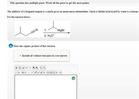 This Question Has Multiple Parts. Work All The Par