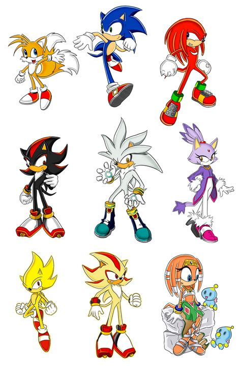 All Characters From Sonic the Hedgehog