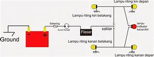 Rangkaian Lampu Sein Dengan Led Indikator Anakstm34