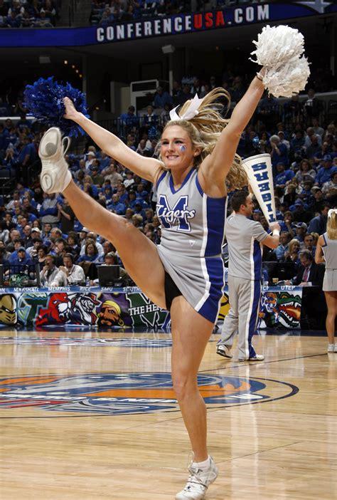 college basketballs top  hottest cheerleaders
