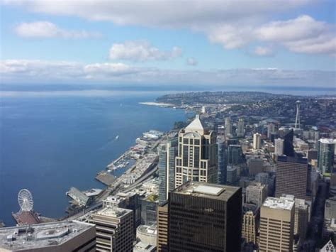 Columbia Center Observation Deck Groupon by Sky View Observatory Observatories Downtown Seattle