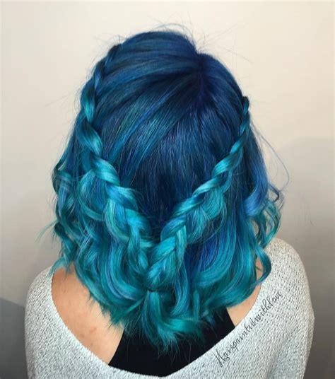 Blue Braids Pulpriot Mane Attraction Pinterest