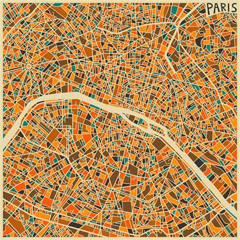 modern maps turned into colorful abstract art naldz graphics