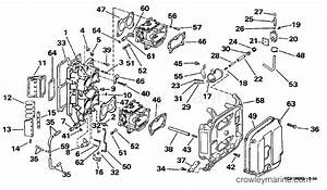 Intake manifold 1998 evinrude outboards 90 e90tslecm for Diagram of 1998 e90tslecm evinrude intake manifold diagram and parts