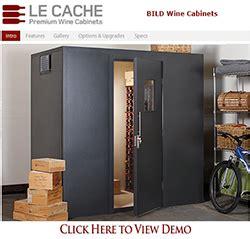 la cache wine cabinets le cache product demos