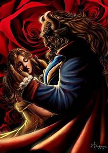 beauty and the beast art | Grim Tales | Pinterest