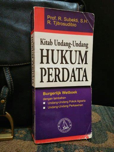 Buku Ajar Hukum Perdata jual beli kitab undang undang hukum perdata burgerlijk