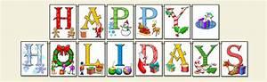 ScrapSMART: Happy Holidays Banner - Large