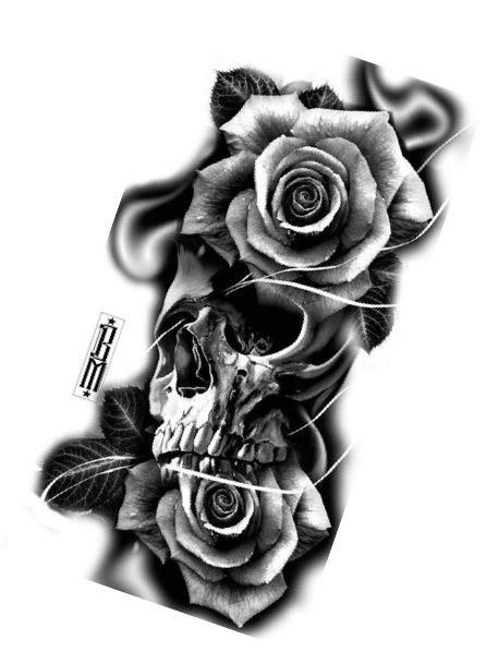 Pin by Cynthia Pearl on Tats   Tattoo designs, Skull rose