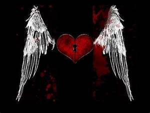 Gothic Hearts Backgrounds - Twitter & Myspace Backgrounds