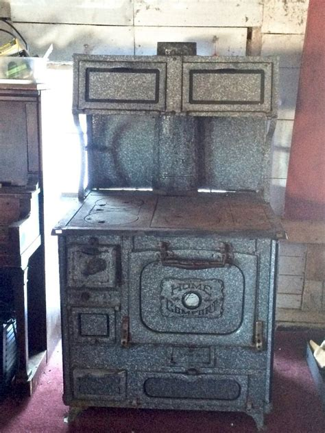 antique home comfort wood cook stove ebay