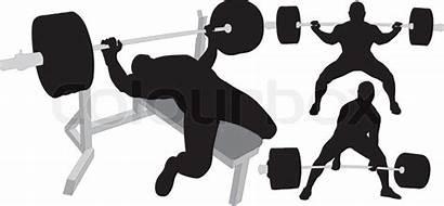 Squat Deadlift Bench Press Powerlifting Weightlifting Bodybuilding