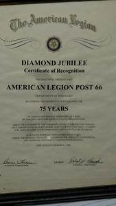 Diamond Jubilee | The American Legion Centennial Celebration
