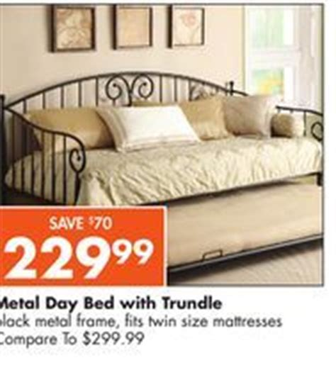 Big Lots Trundle Bed by 229 99 On Sale Metal Daybed W Trundle Price 8 31