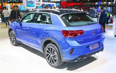 volkswagen  roc suv displayed  auto shanghai india