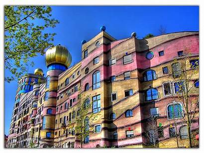 Waldspirale Artistic Hundertwasser Hundertwasserhaus Architecture Darmstadt Friedensreich