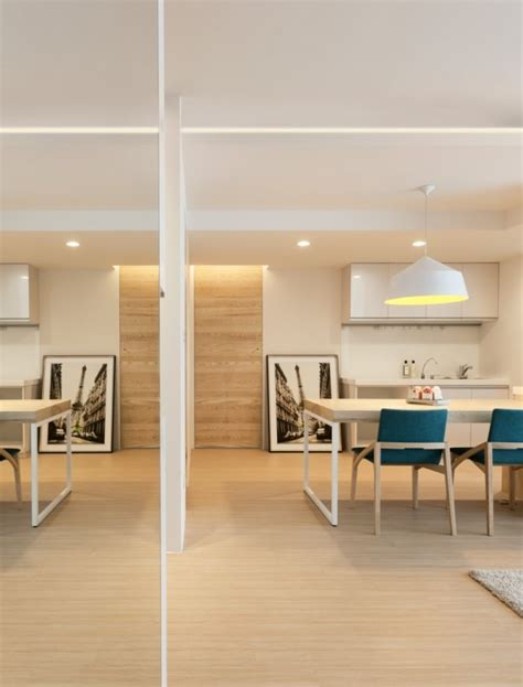 Modern Apartment Design Maximizes Space Minimizes Distraction by モダンで温かみのあるデザイナーズアパート The Arch Design