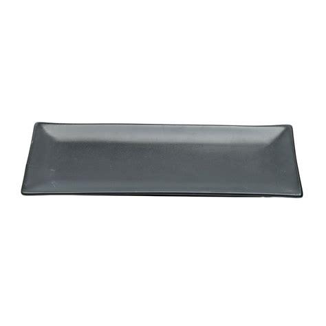 Teller Schwarz Matt teller schwarze serie matt 26x11cm schwarze serie