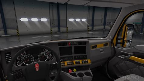 Kenworth T680 Paint Interior  American Truck Simulator Mods